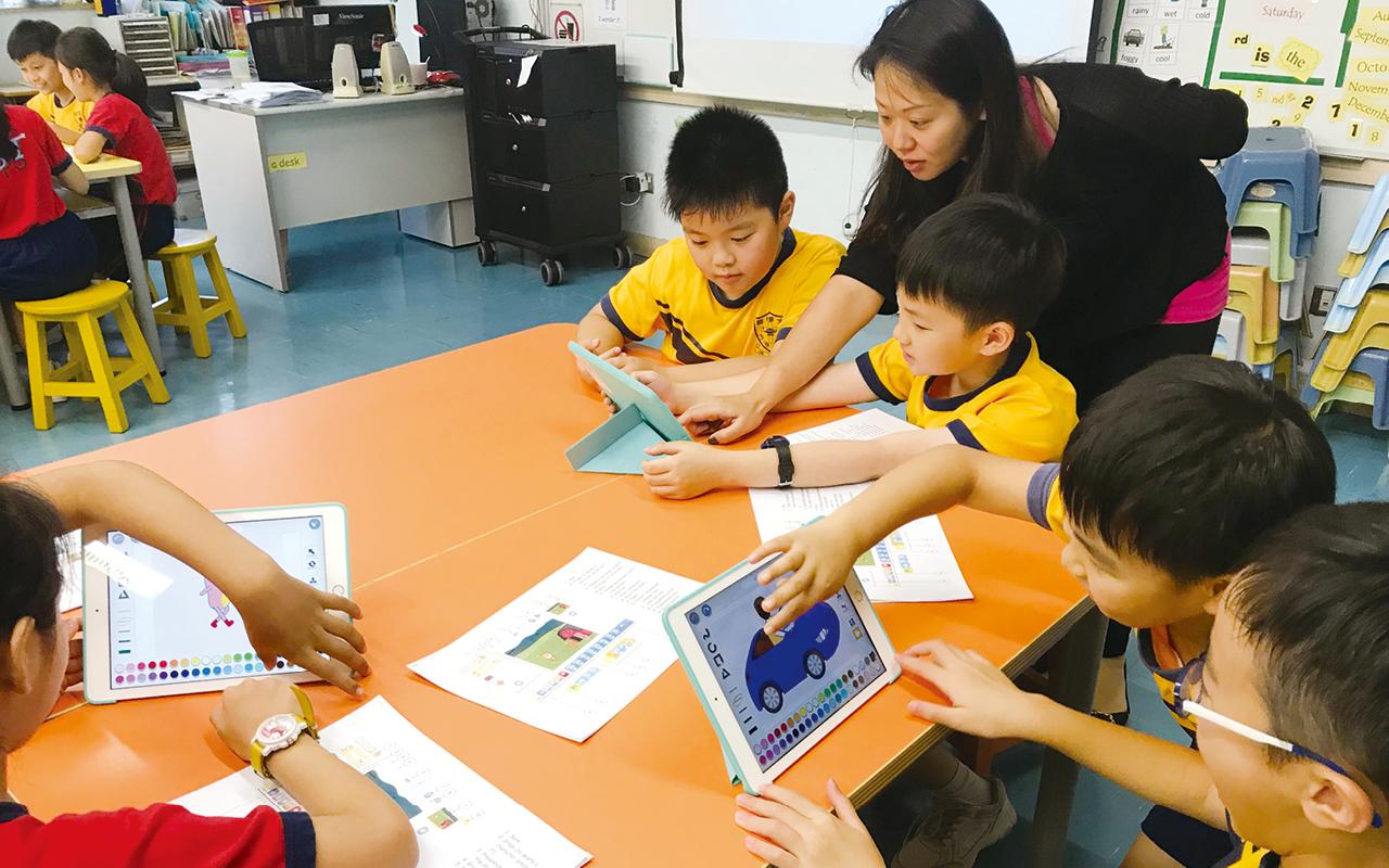 教師會提供多元化閱讀材料,讓學生學習生字、文法之餘,亦通過討論訓練批判性思考,以至學習關懷地球及世界。