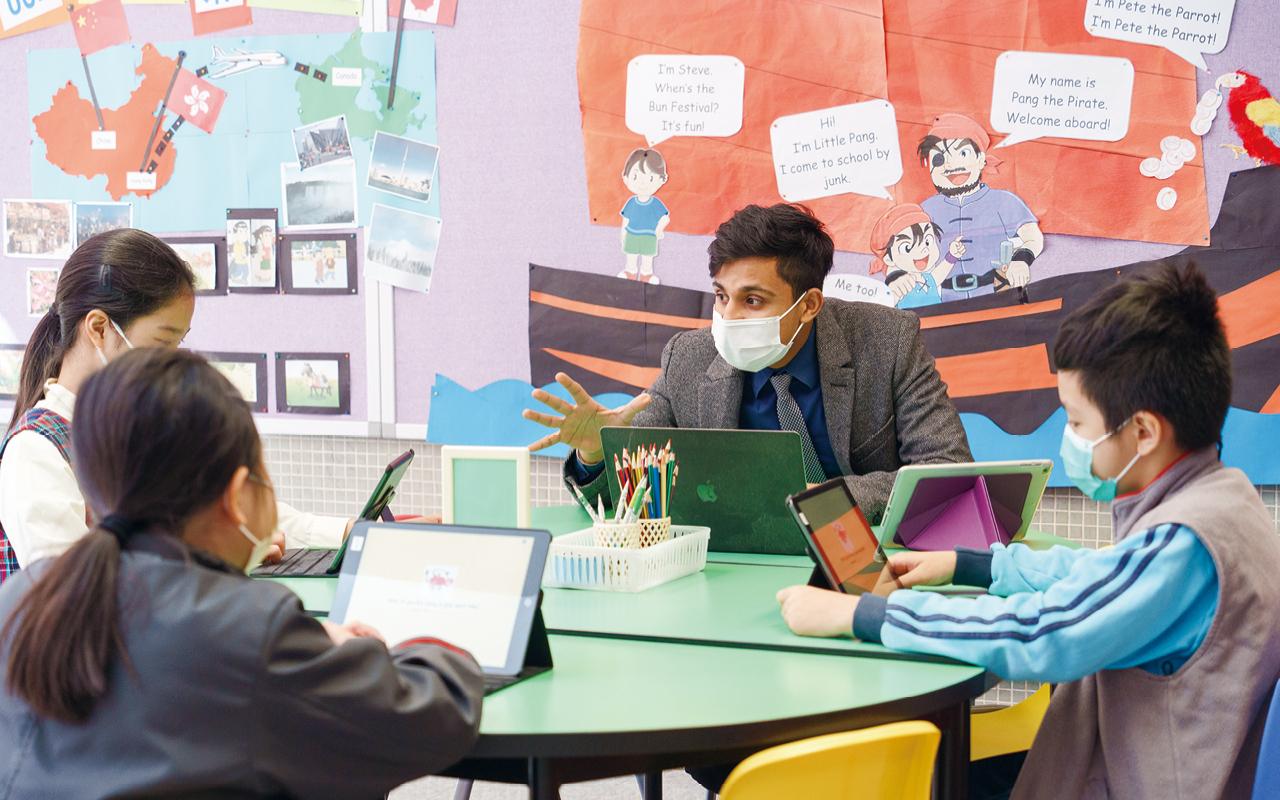 學校以「活學英語、活用英語」為課程目標,不僅提供豐富的英語環境給學生,更重要是創造機會,讓他們可以多說、多讀和多寫。