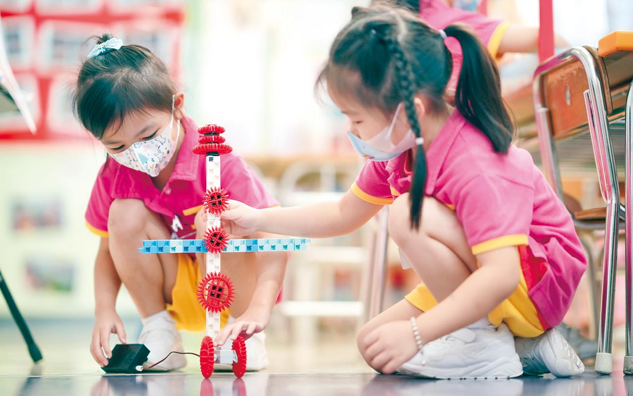 科學探索是同學們最愛的活動