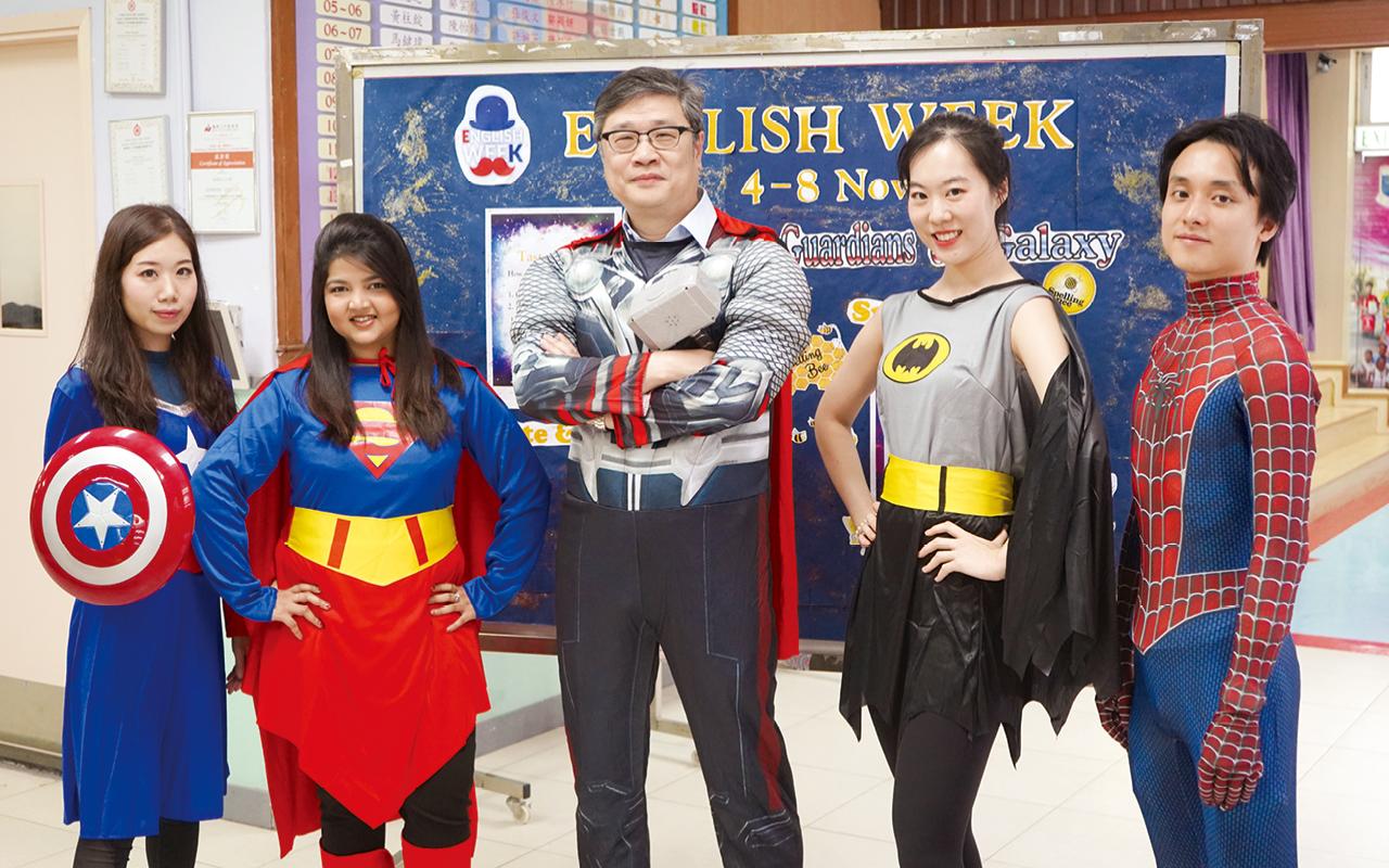 惠僑 Super Heroes。