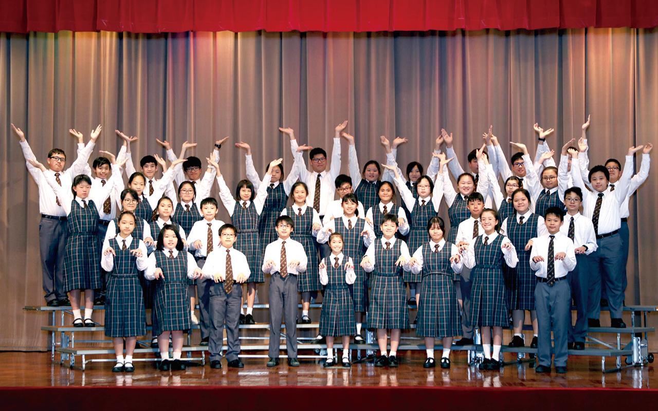 英語音樂劇融合戲劇、音樂和舞蹈的元素,全面展現及發揮同學各種才能。