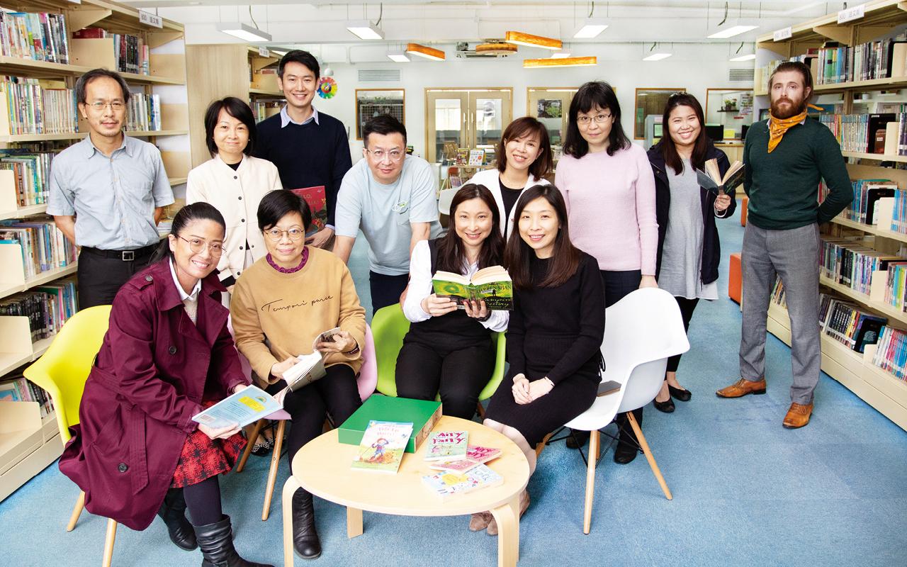 多元英語活動加上巧妙的設置與安排,全因佛教黃允畋中學有一班精益求精的教師團隊。