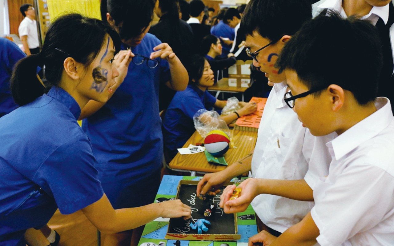 教學團隊推動全校多元英語活動,寓英語於日常之中,共同打造豐富的英語語境。