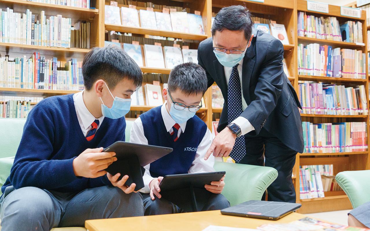 學校亦通過跨科協作方式,推廣英語書籍。
