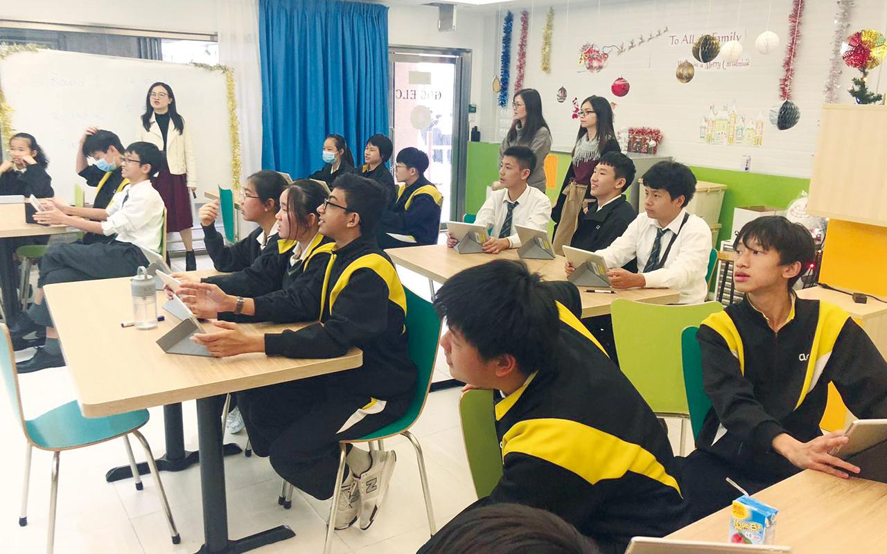 馮金燕校長總結,讓學生在不同情景、不同環節,持續地以不同形式學習英文,才能得到全面成效。