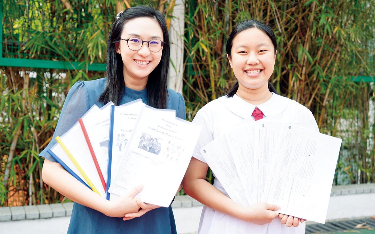 學校透過適異課程和分層評估兩大方針,提升學生的英語水平。