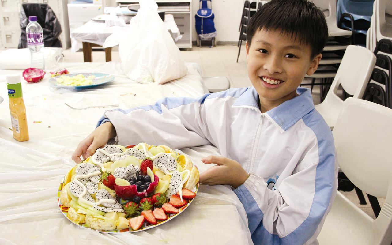 英語學習Salad Cooking。