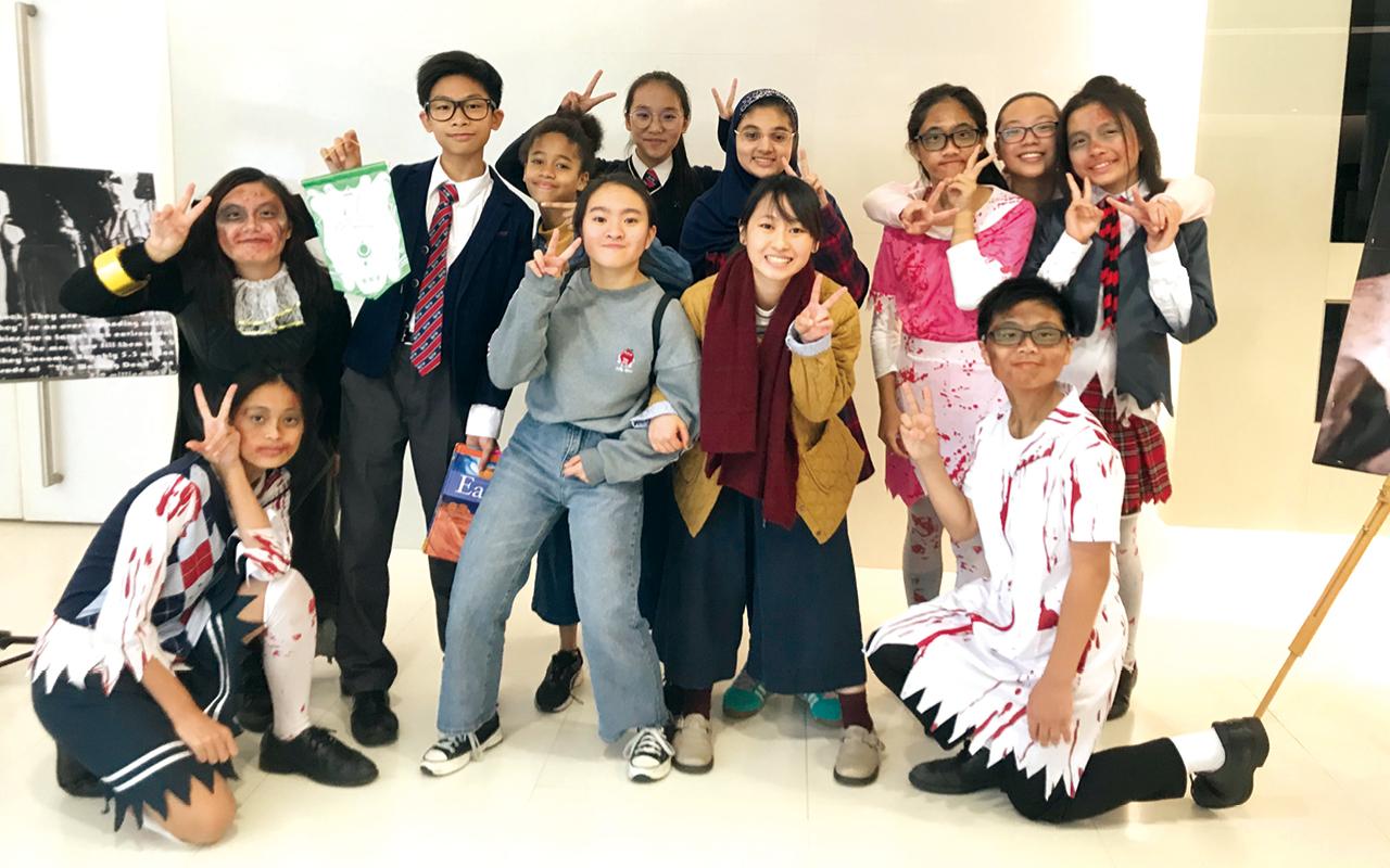 仁濟二中在第71屆香港學校朗誦節中,奪得英語話劇冠軍。