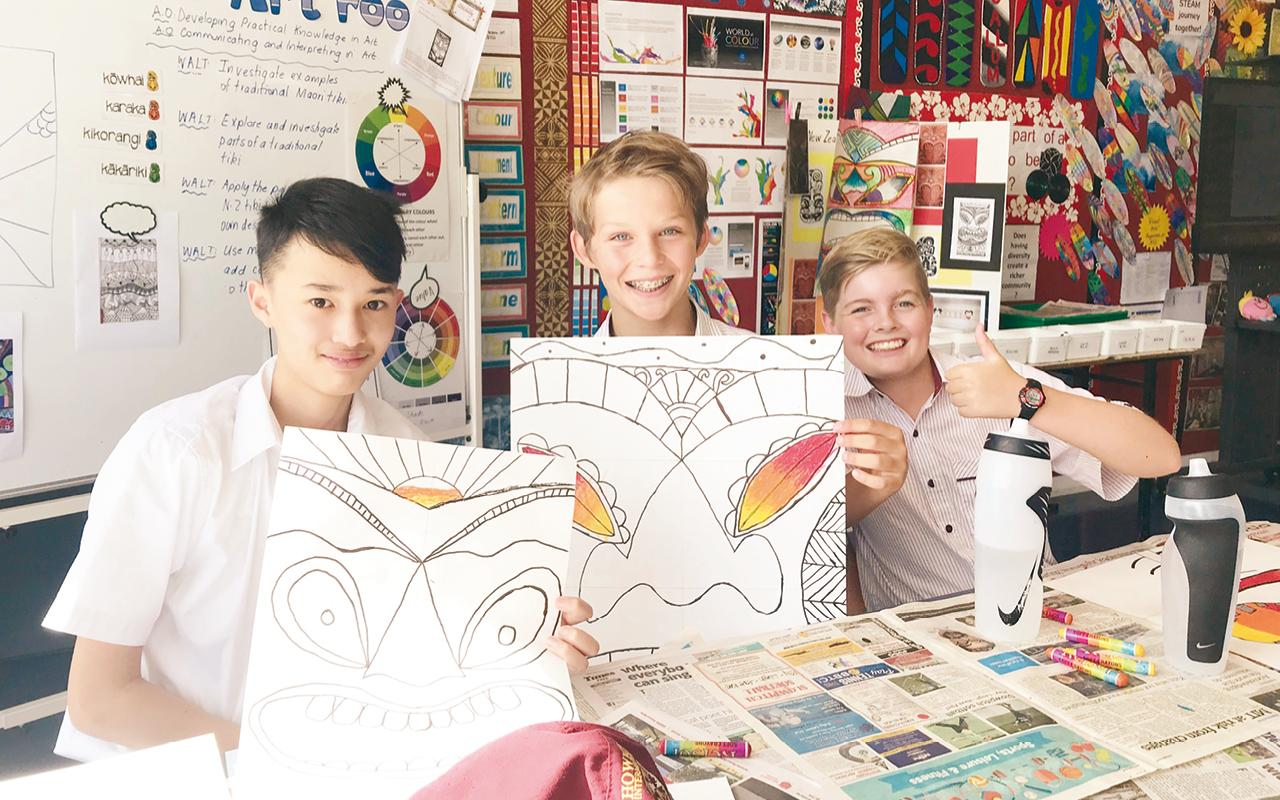 仁濟二中與紐西蘭姊妹學校連續兩年進行教研、課程發展及學生交流。