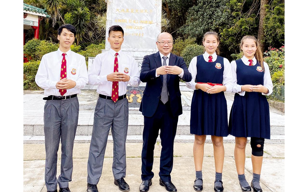 楊永漢校長藉着教育趨勢轉向,重新檢討學校發展,訂下三大發展路向,包括「教學新常態」、「早着先機」及「國際交流」。