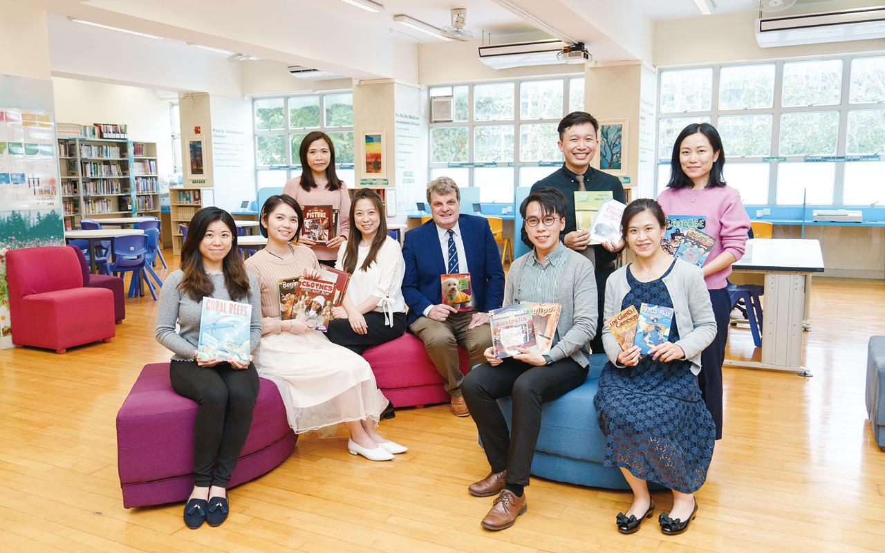 該校逢星期三舉辦「英文日」,着重透過活動鼓勵學生與教師用英語溝通,閒談內容不設限,活動豐富。
