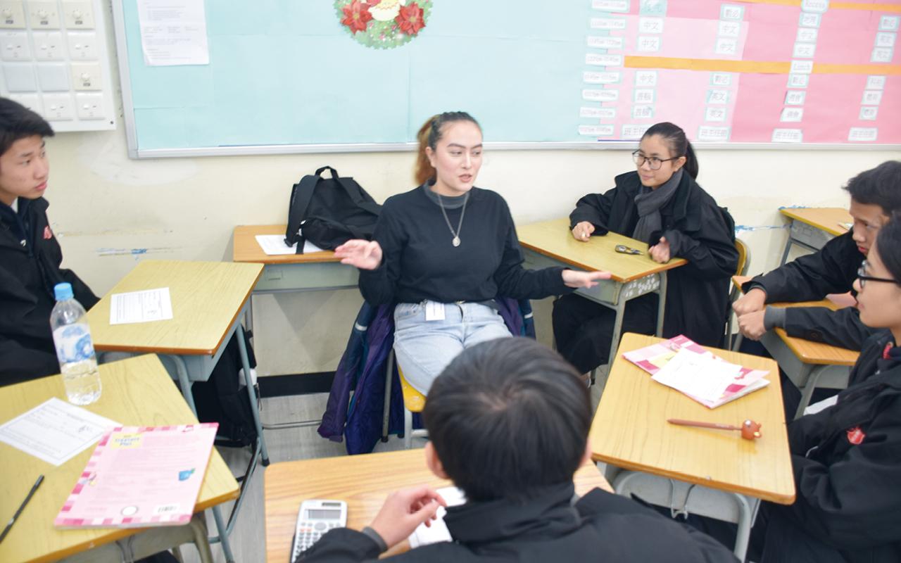 為提升同學英語學習動機,學校特別舉行一系列聯課活動,緊扣學校課程,使學生更有效運用相關知識。