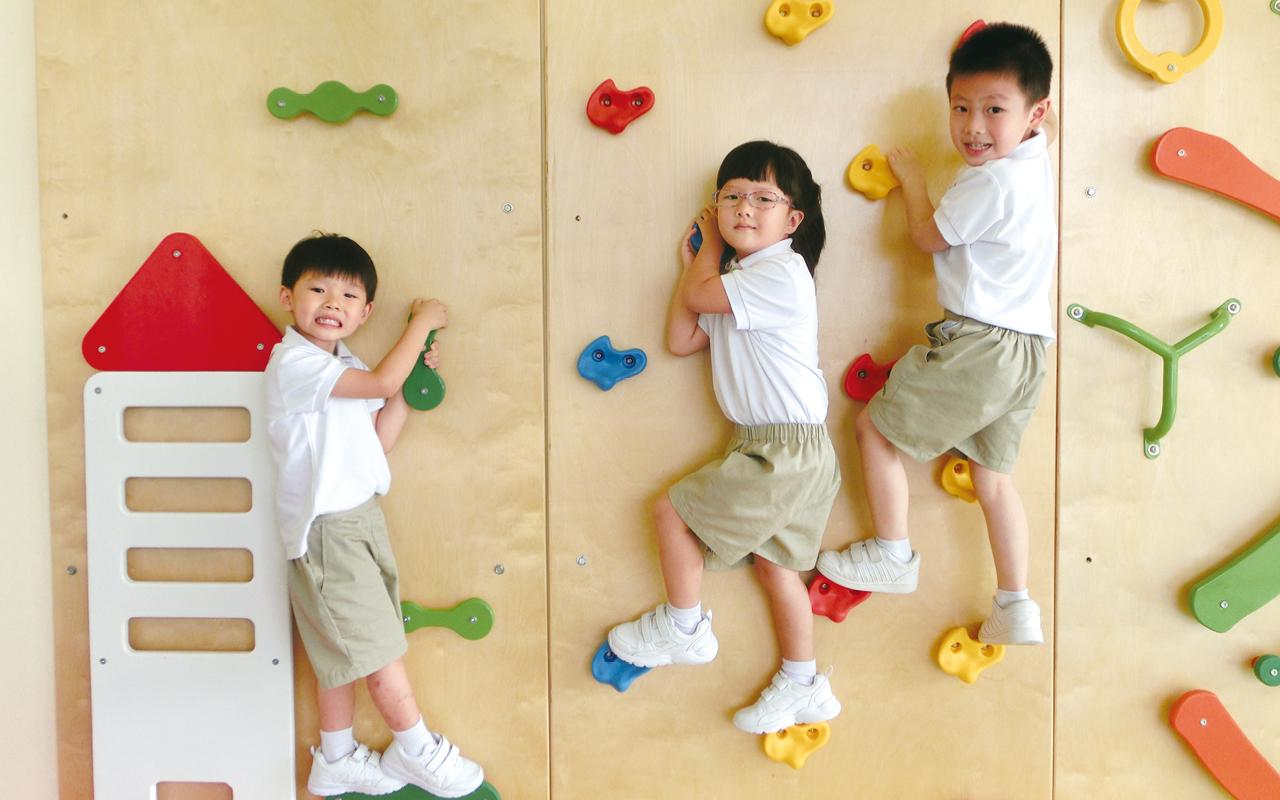 學校注重兒童的身心健康,致力幫助學生建立健康的生活模式。