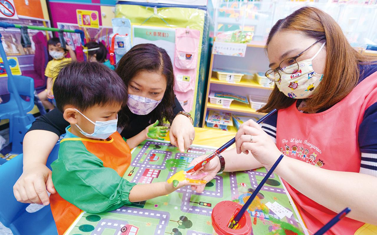 沈麗香校長認為遊戲對孩子十分重要,同時亦帶來樂趣,希望學生能夠透過遊戲中學習,為「自主學習」打好基礎。
