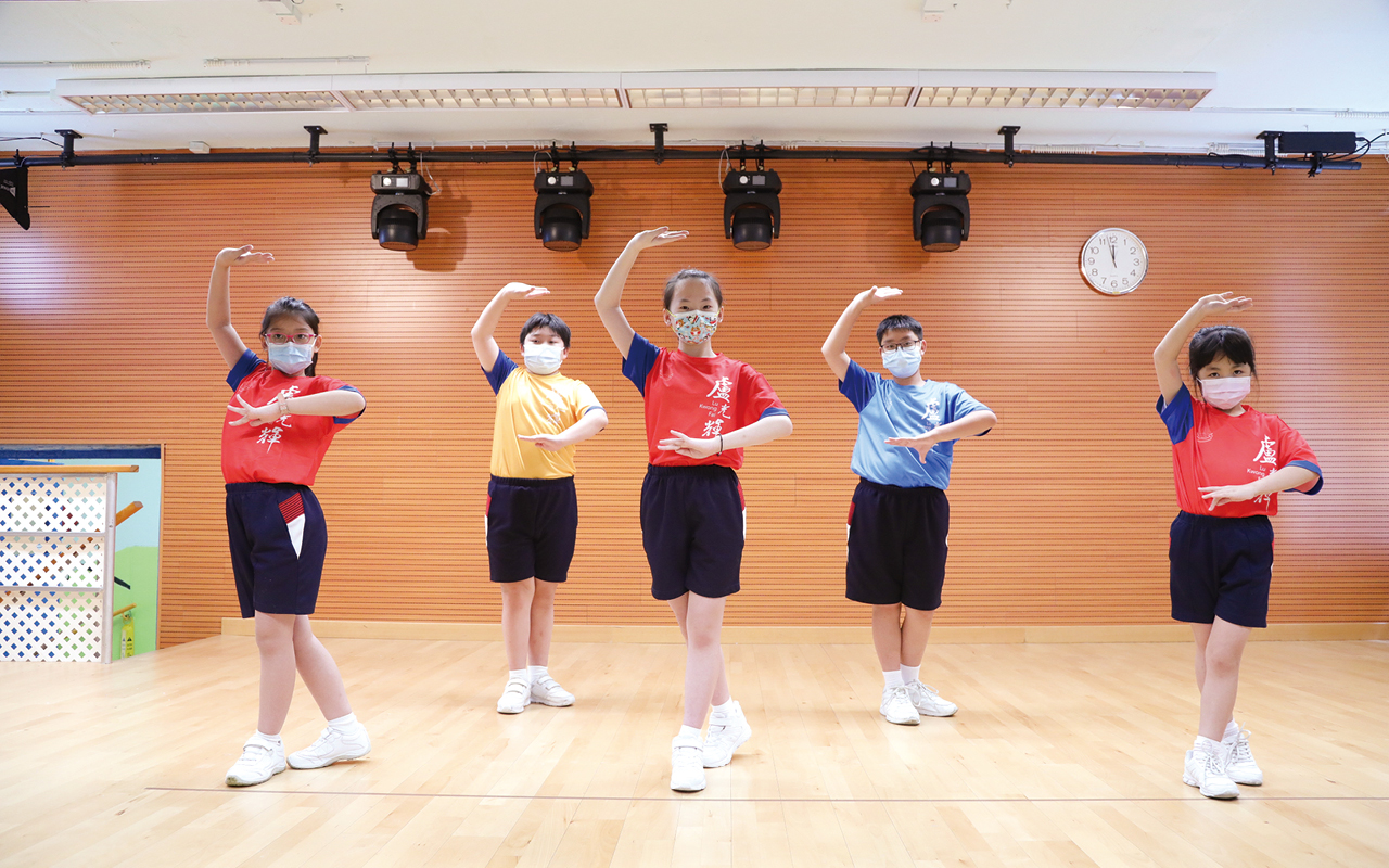 學校在幾年前已開展粵劇活動,讓小朋友透過參與粵劇表演,體驗中國文化的優秀傳統,做到傳承的效果。