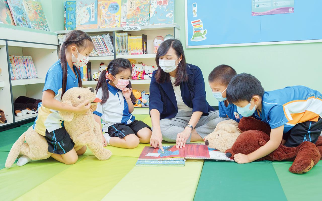 在知識的基礎上,學校同樣重視學生的身心靈健康。