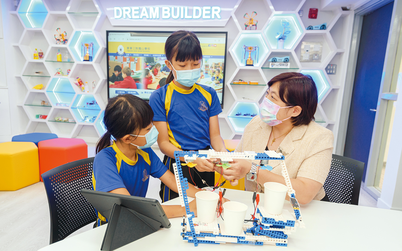 學校致力推動正向教育,根據PERMA+H的概念發展。