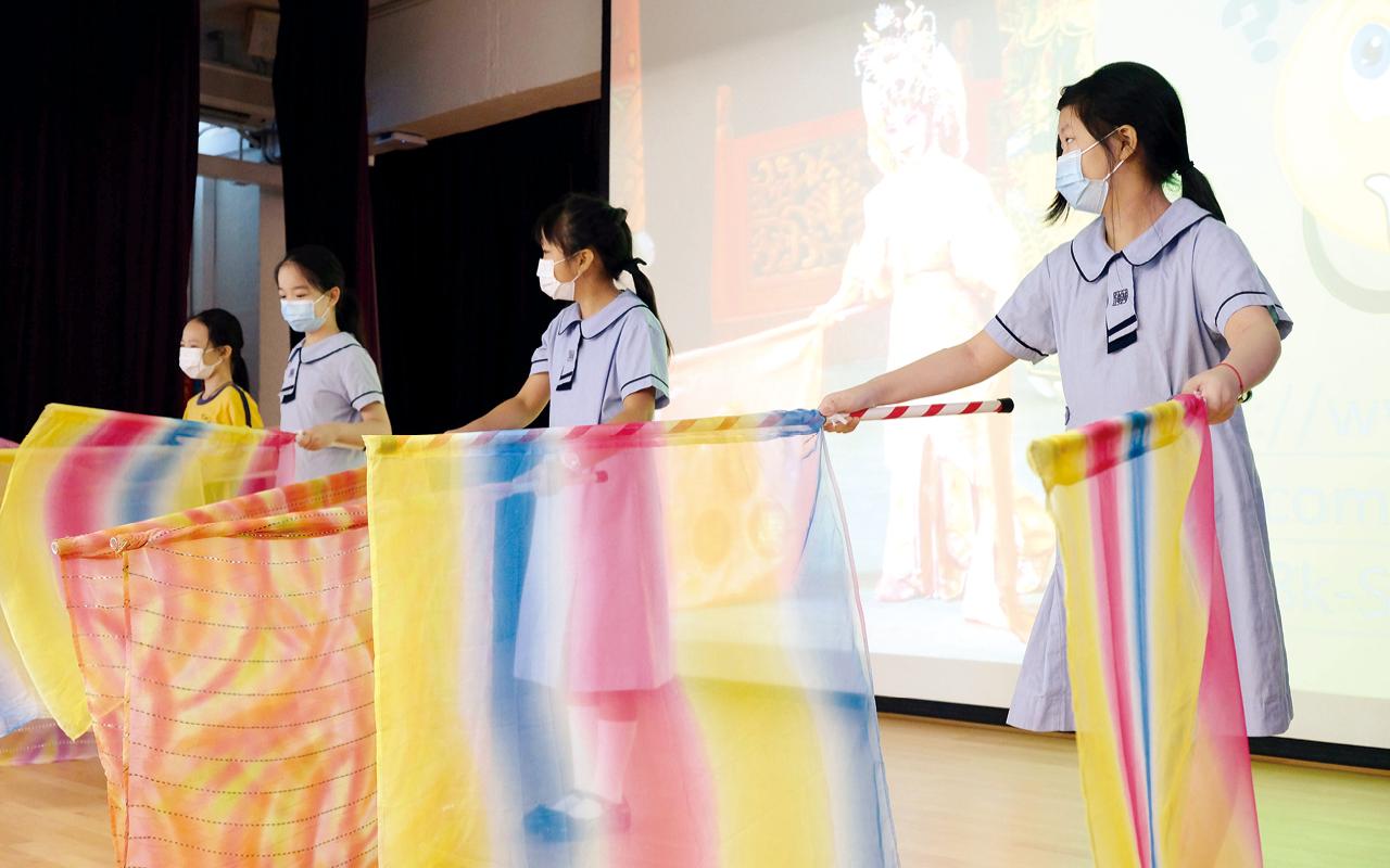 劉校長深信每位學生都有不同的才能,「人人能學,人人皆可成才」。
