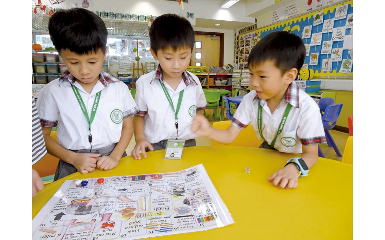 鄭校長認為讓學生成為主導者,向其他同學展示自己的成果,能夠讓他們獲得成功感。