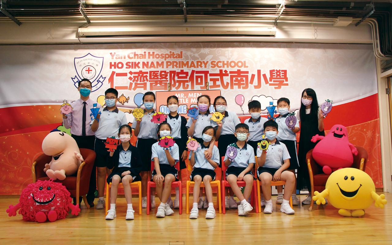 羅卓賢校長重視學生的學習經歷,希望為他們締造六年愉快豐富的校園生活。