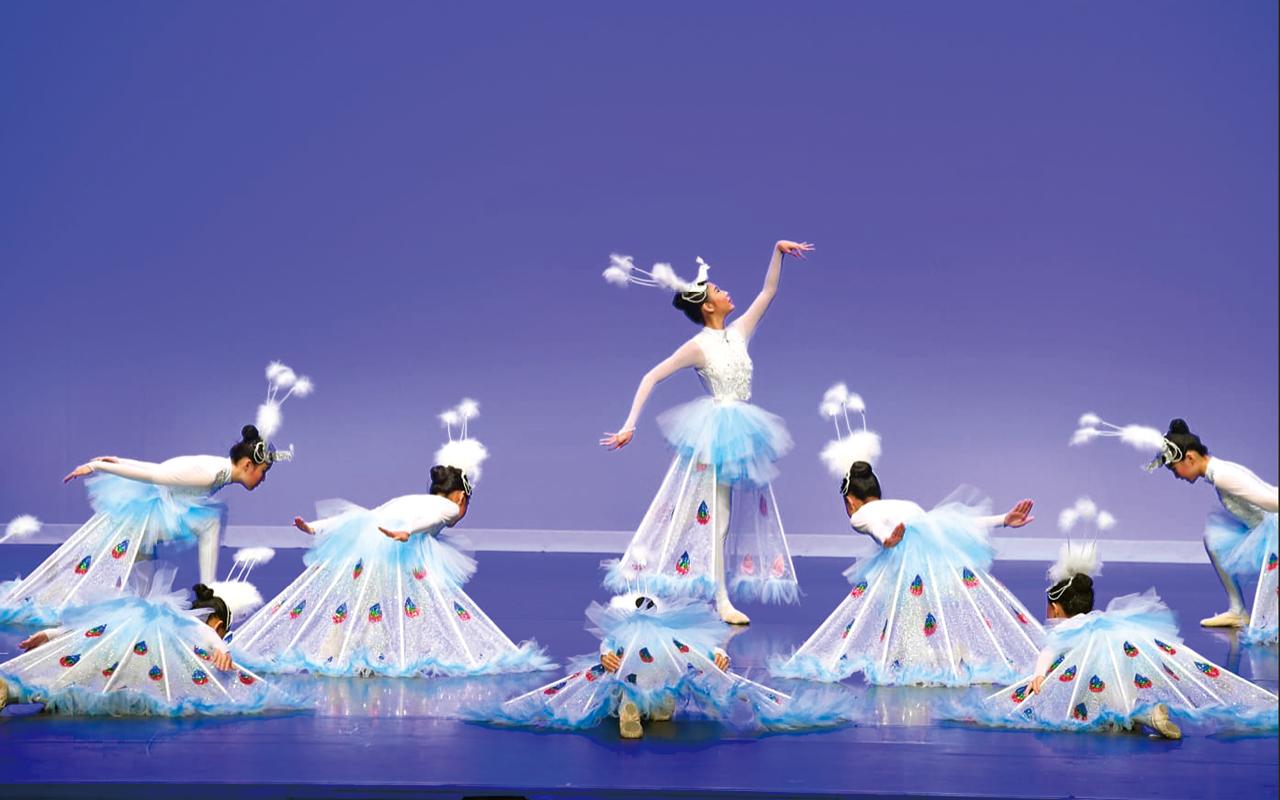 中國舞(孔雀舞)