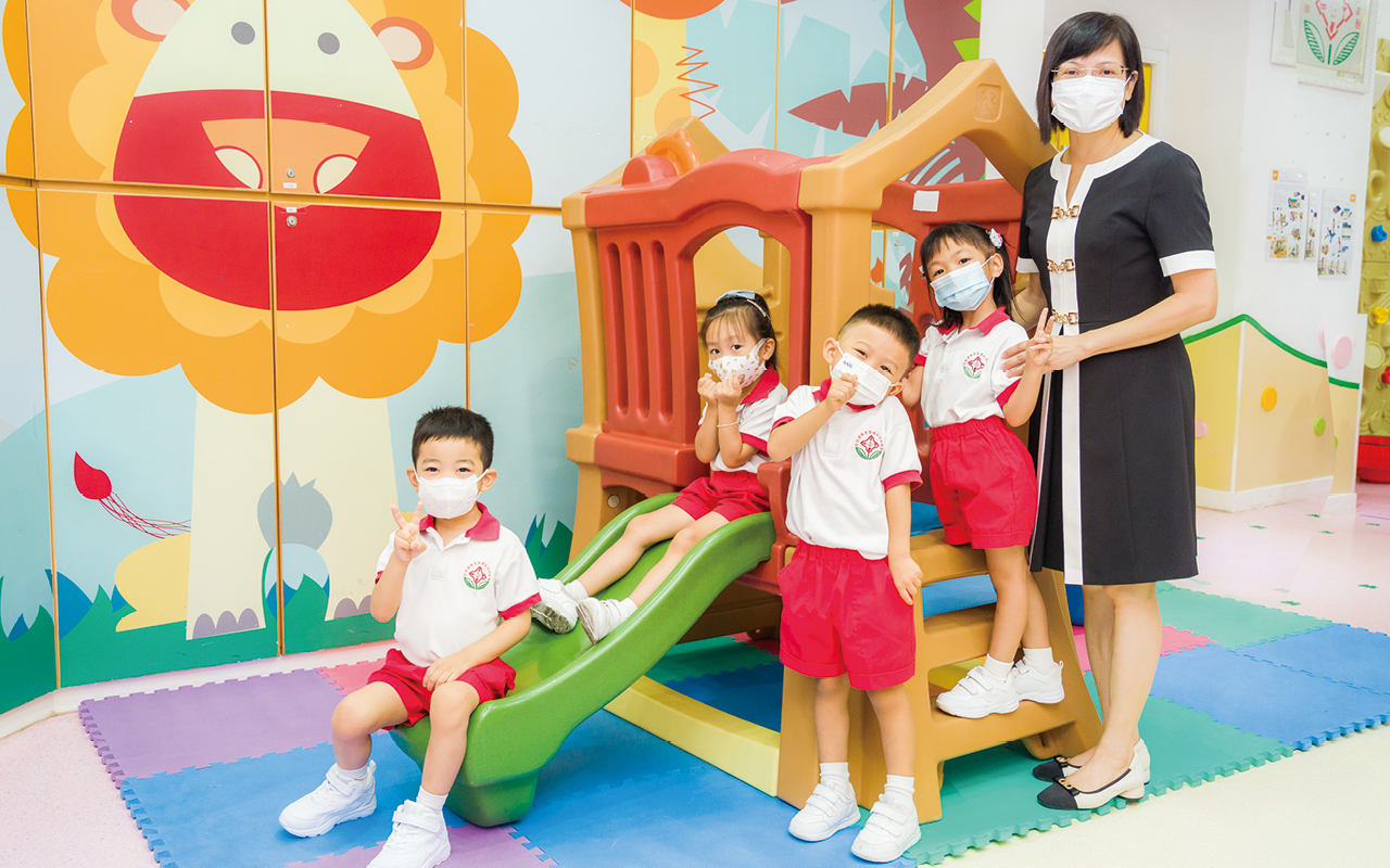 新方向 新亮點 英語及生活探索氛圍下成長的孩子