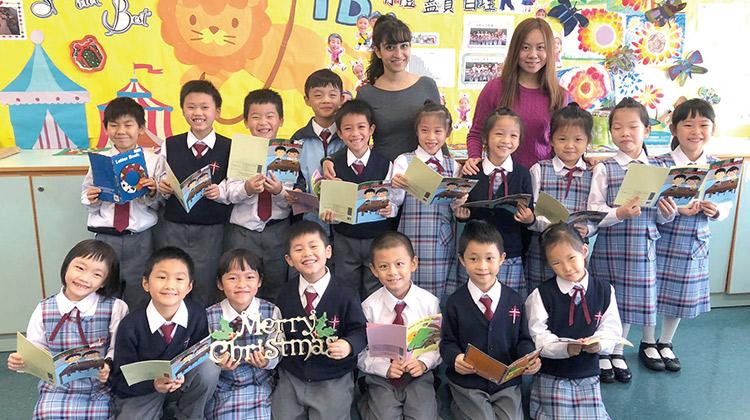 聖公會聖匠小學:外籍教師協作 系統課程培訓學生英語