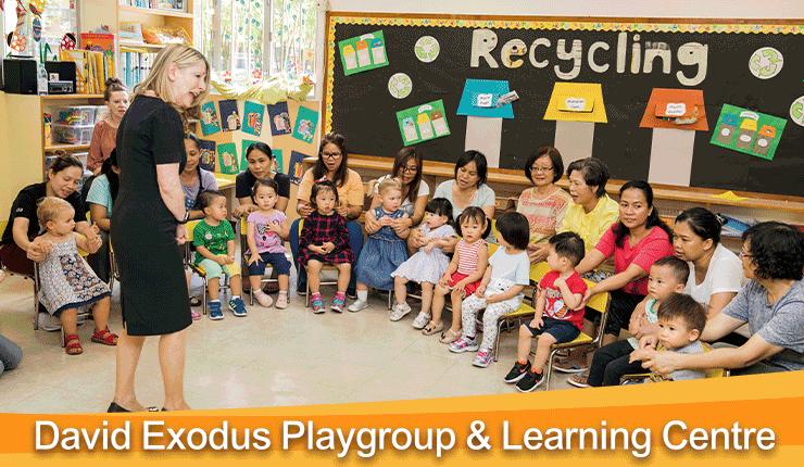栽培目標:幼兒到青少年   教育中心打好英語基礎