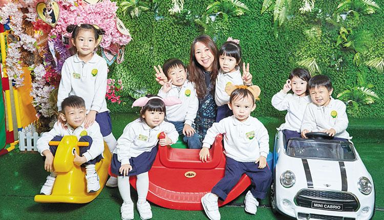 聖安多尼中英文小學暨幼稚園 Learning Smart With Joy & Fun 發掘孩子無限可能