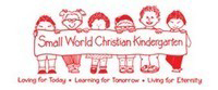 SMALL WORLD CHRISTIAN KINDERGARTEN校徽