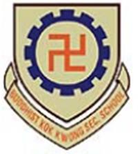 佛教覺光法師中學校徽