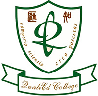 匯知中學校徽