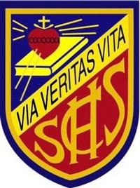 Sacred Heart Canossian School的校徽