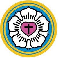 基督教挪威差會主辦信義中英文幼稚園的校徽