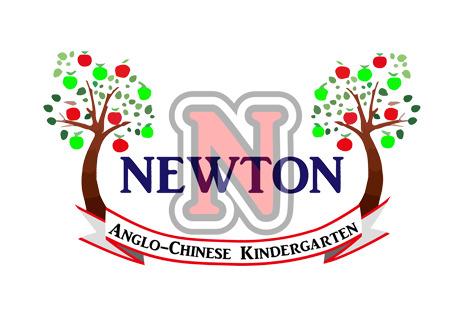 小牛頓中英文幼稚園校徽
