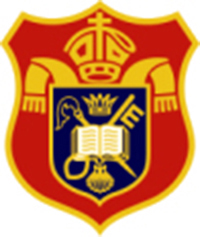 Diocesan Preparatory School的校徽