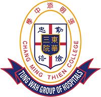 東華三院張明添中學校徽