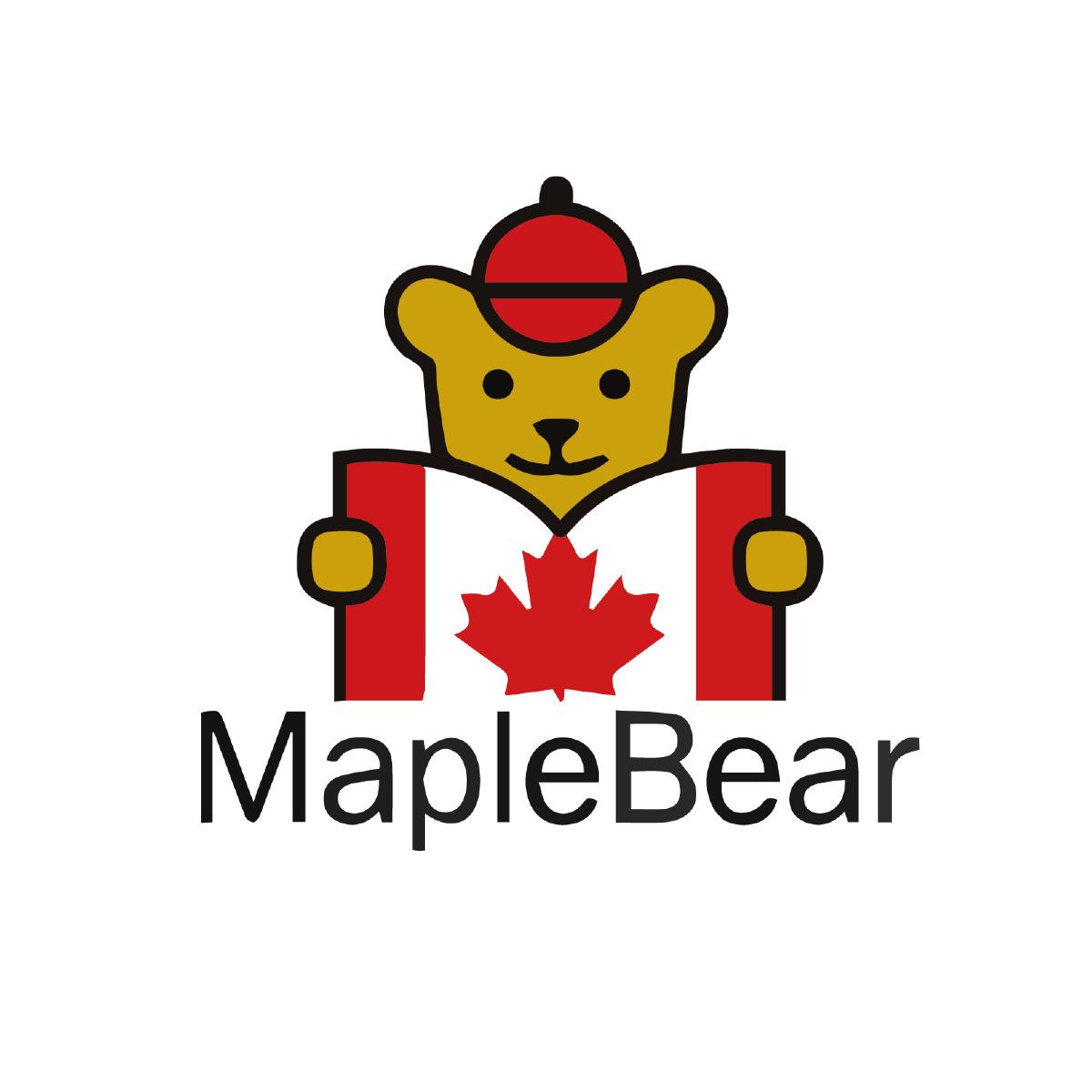 楓葉小熊加拿大國際幼稚園校徽