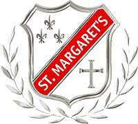聖瑪加利男女英文中小學的校徽