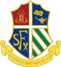 聖芳濟書院的校徽