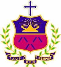 Chan Sui Ki (La Salle) Primary School的校徽