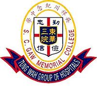 東華三院吳祥川紀念中學校徽