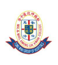 東華三院鄺錫坤伉儷中學校徽