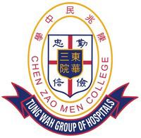 東華三院陳兆民中學校徽