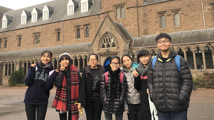 仁濟醫院羅陳楚思中學:學好英語 向世界出發 全年交流遍及歐美澳