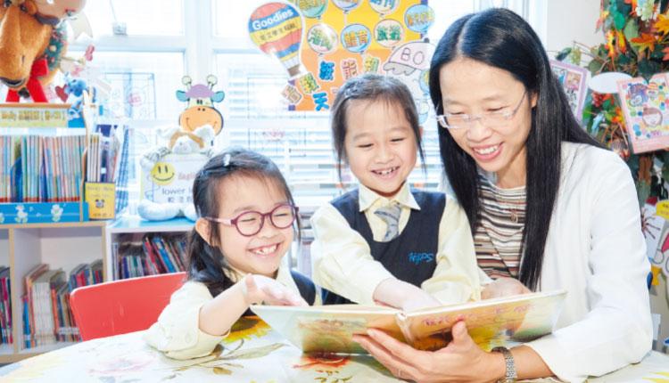 基督教聖約教會堅樂小學:馬校長致力為學生提供一個完善而愉快的學習環境。