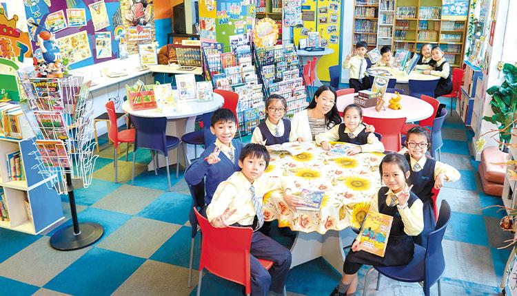 基督教聖約教會堅樂小學:營造良好閱讀氛圍,為學生打好根基。