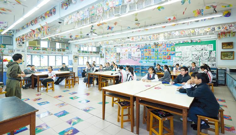 教育傳媒:何校長希望學校能營造一個關愛的環境,讓學生可以茁壯成長。
