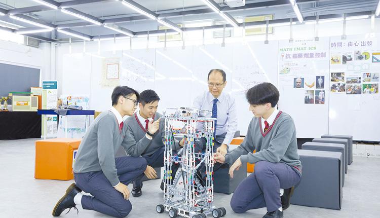 教育傳媒:因應STEM教育及電子學習發展,設立STEM SPACE, 為學科課程及延伸活動、跨校交流、研習探究等提供多元功能與彈性兼備的空間。