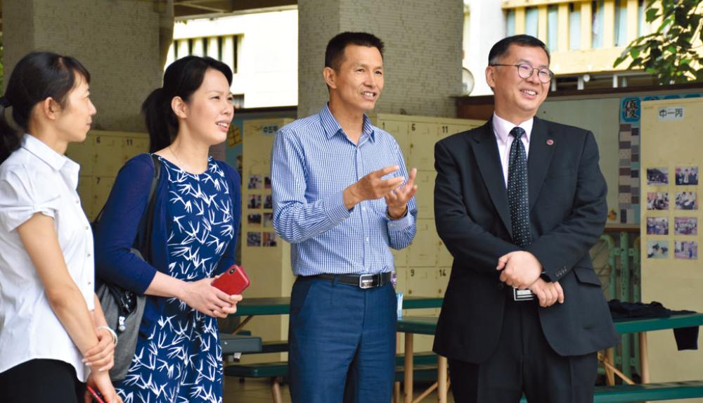 教育傳媒:雲南大學體育學院院長李國忠教授、香港大學公共衞生學院方少萌教授到訪。